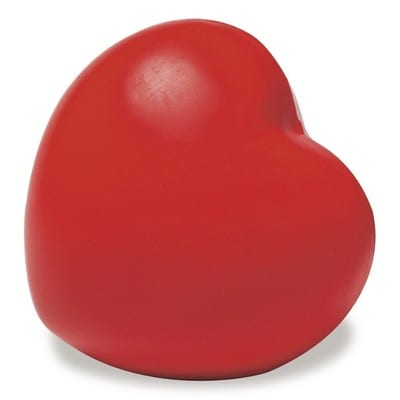 Stress ball - heart shaped