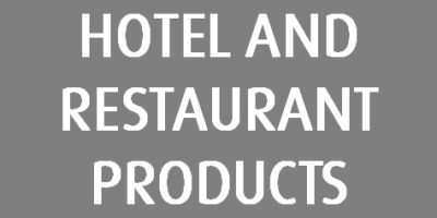 12 Hotel And Restaurant Products