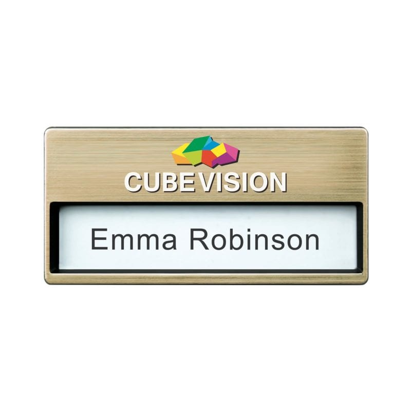 Name Badge Oliver | Corporate Gifts Malta