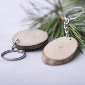 Keychains Wooden/Eco friendly